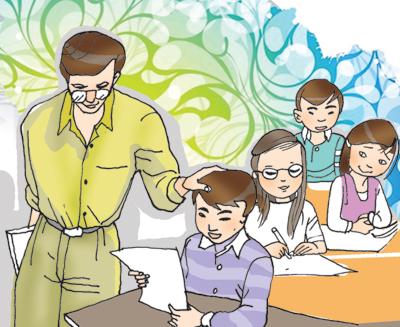 bai du thi viet ve thay co giao va mai truong - Bài dự thi viết về thầy cô giáo và mái trường