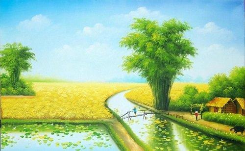 nhung bai tho hay ve que huong dat nuoc con nguoi 2 - Những bài thơ hay về quê hương đất nước con người