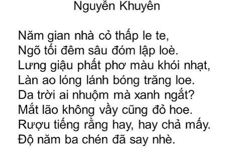 nhung bai tho that ngon bat cu duong luat hay nhat 5 - Những bài thơ thất ngôn bát cú đường luật hay nhất